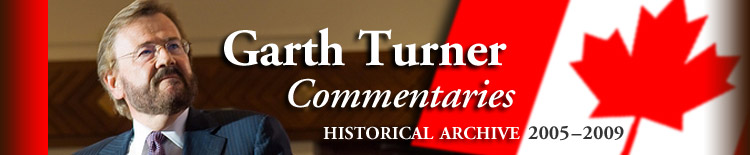 Garth Turner Commentaries: Historical Archive, 2005-2009.